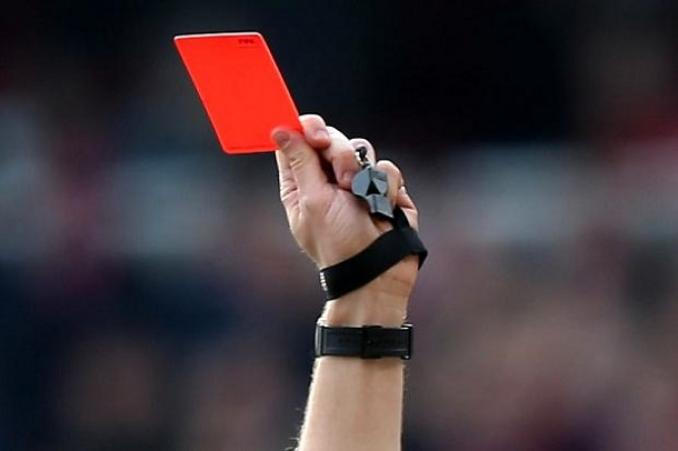 referee redcard